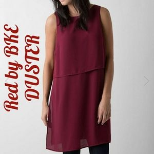 RED by BKE Duster Top Brick Red Tunic